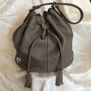 Brighton Leather Drawstring Shoulder Bag